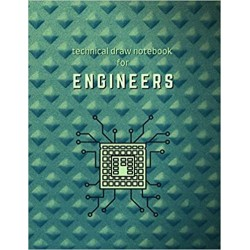 Technical Draw Notebook for Engineers