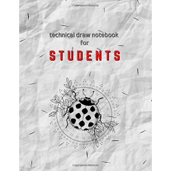 Technical Draw Notebook for Students
