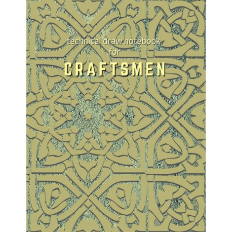 Technical Draw Notebook for Craftsmen