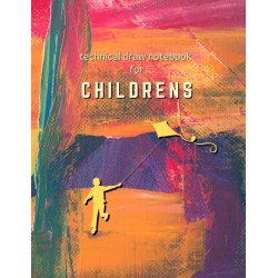 Technical Draw Notebook for Childrens