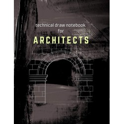 Technical Draw Notebook for Architects