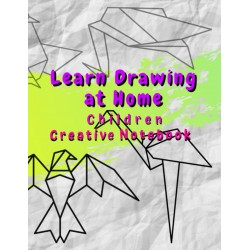 Learn Drawing at Home - Children Creative Notebook