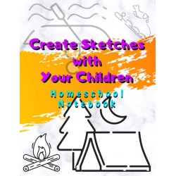 Create Sketches with Your Children - Homeschool Notebook