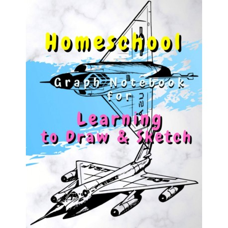 Homeschool - Graph Notebook for Learning to Draw & Sketch