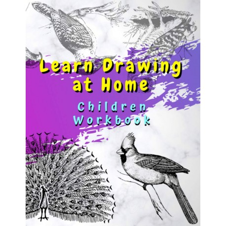 Learn Drawing at Home - Children Workbook