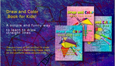 Draw and Color - Book for Kids